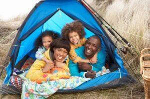 Met je kind gaan kamperen