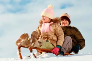 Op wintersport met de kinderen