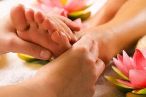 Positieve invloed van voetmassages